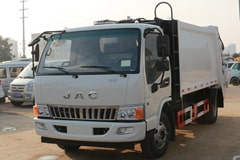 [高清]江淮5吨压缩式垃圾车图片大全