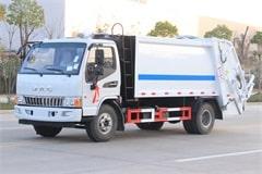 国六江淮5吨压缩式垃圾车价格_配置_图片_厂家