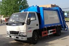 [高清]江铃3吨压缩式垃圾车图片大全