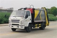 江铃6方压缩式垃圾车价格报价_配置_生产厂家