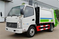 [高清]凯马2吨蓝牌压缩垃圾车图片大全