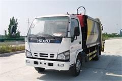 五十铃6方压缩式垃圾车价格_配置_图片_生产厂家