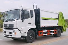 [高清]天锦8吨压缩式垃圾车图片