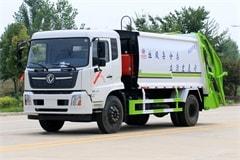 天锦8吨垃圾清运车价格_配置_厂家直销