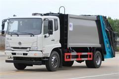 新款天锦8吨压缩式垃圾车价格_视频_图片_配置