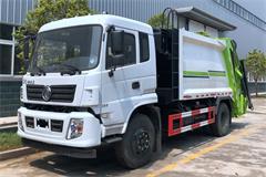 [高清]东风10方压缩式垃圾车图片大全