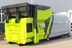 12方移动式压缩垃圾箱价格_图片_配置_生产厂家