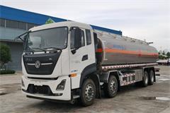 东风天龙25方铝合金运油车价格_配置_厂家包牌