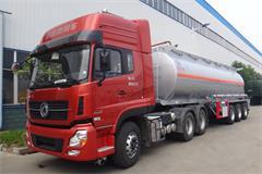 30吨半挂油罐车价格_图片_厂家