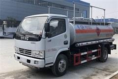 东风5吨小型加油车价格_图片_配置_厂家