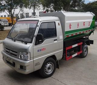 <b>福田3方挂桶式垃圾车价格_配置</b>